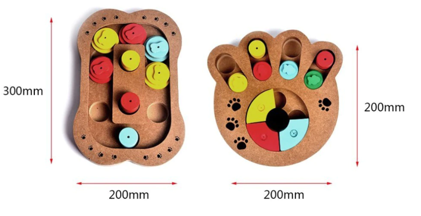 French Bulldog Treat Puzzle Game