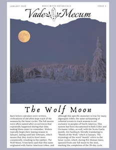 January 2020 // The Wolf Moon, Horehound, + How To Make Lozenges