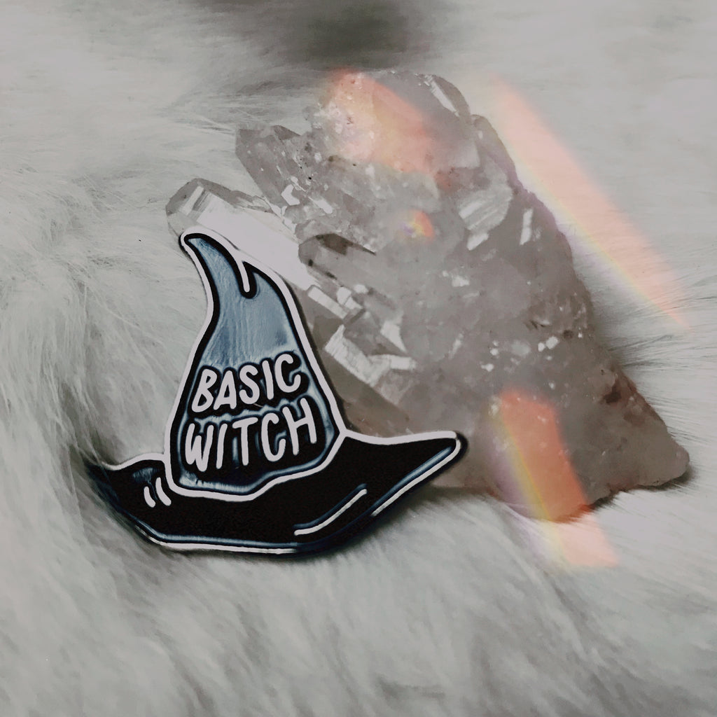 Basic Witch Brooch