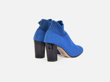 pregis fee blue sock contemporary mid heel made in portugal