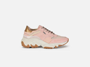 pregis kayo pink oversized runner sneaker made in portugal