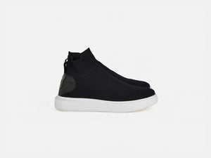 pregis likke black sock cupsole sneakers made in Portugal