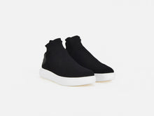 pregis payton black sock cupsole sneakers designed in London