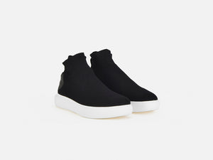 pregis likke black sock cupsole sneakers designed in London