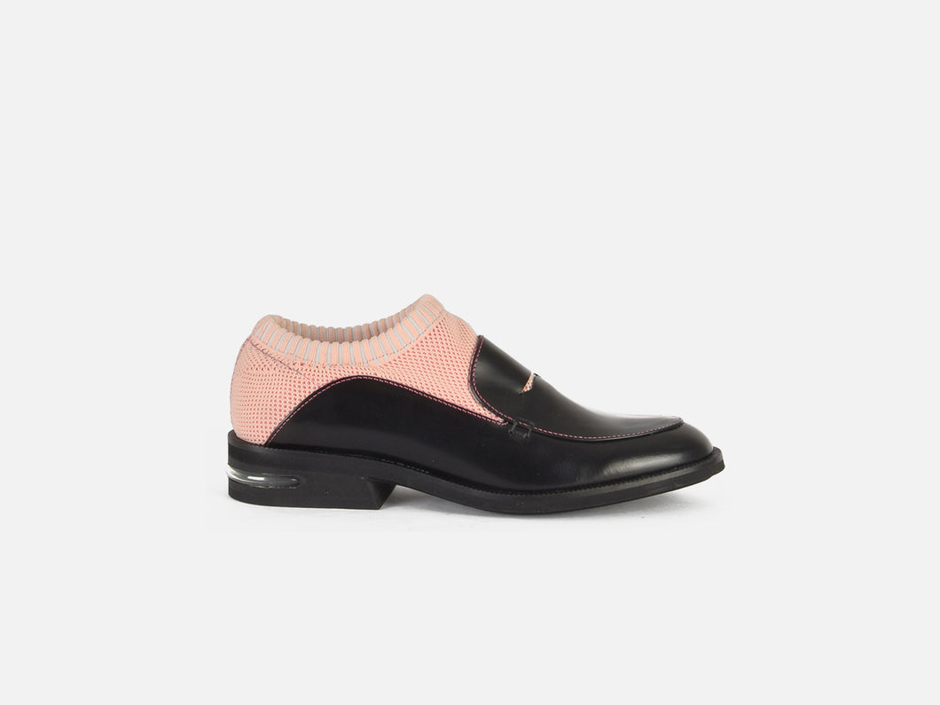 pregis rorke pink sock loafer designed in London