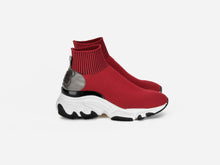 pregis ryder red sock oversized runner sneaker designed in London