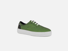 pregis wing green mesh cupsole sneakers designed in London