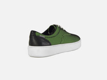 pregis wing green mesh cupsole sneakers made in Portugal