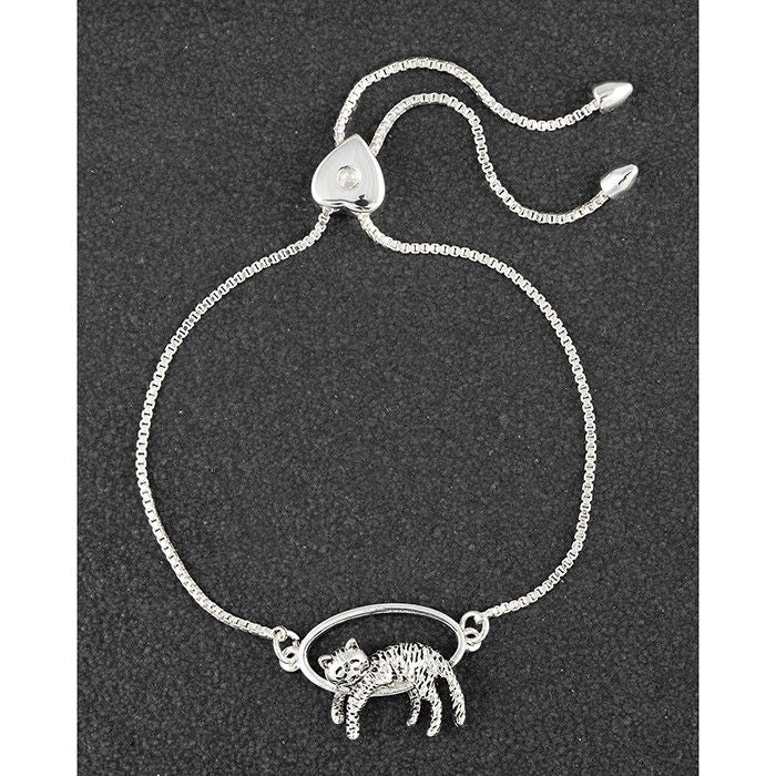 Contended Cat Friendship Bracelet