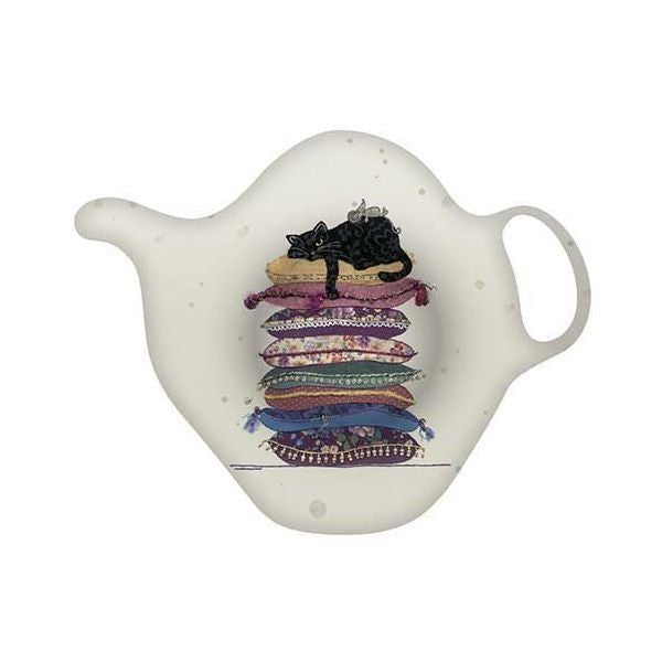 Cat Cushions Teabag Tidy
