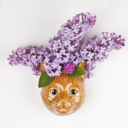 Ginger Cat Wall vase