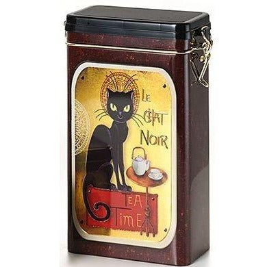 Black Cat Tea Caddy