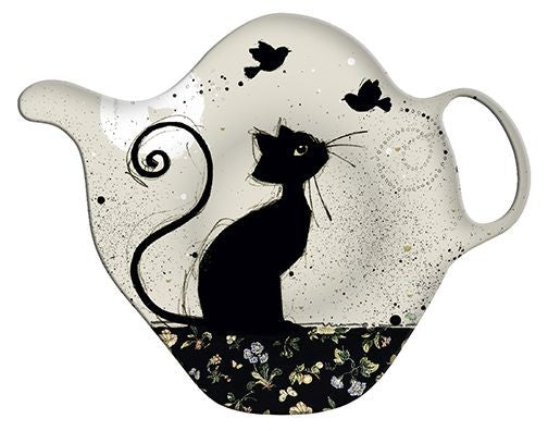 Chintz Cat Teabag Tidy