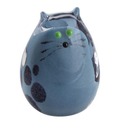 Caithness Glass Grey Kitten Paperweight