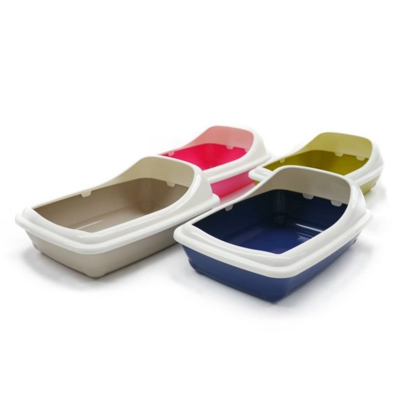 Contemporary Litter Tray with rim