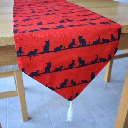Cat Table Runner