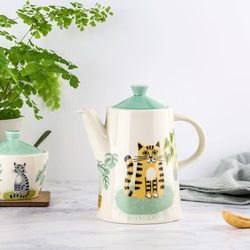 Catlife Tea and Coffee Pot