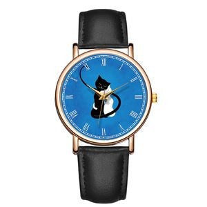 Pair of Cats Watch