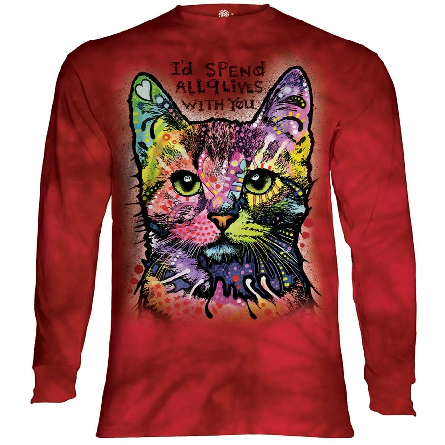 9 Lives Long Sleeved T-Shirt