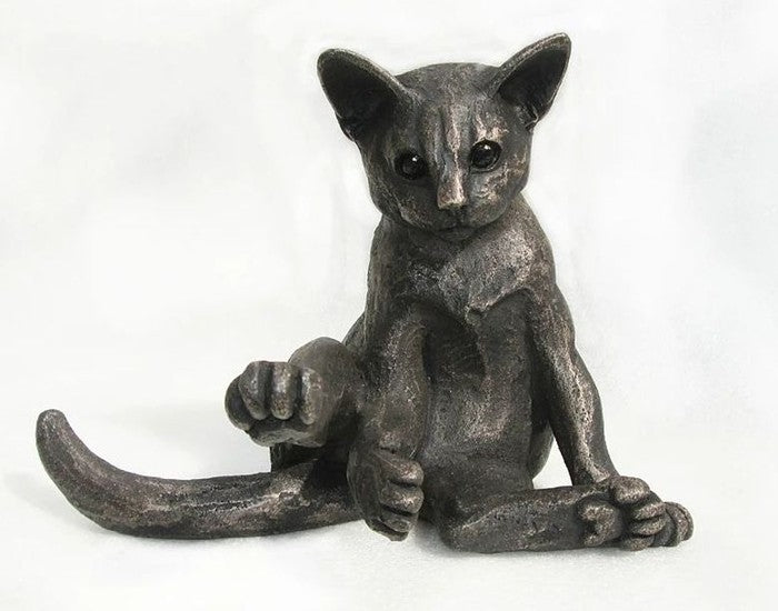 Bella Interrupted Cat Sculpture by Suzie Marsh