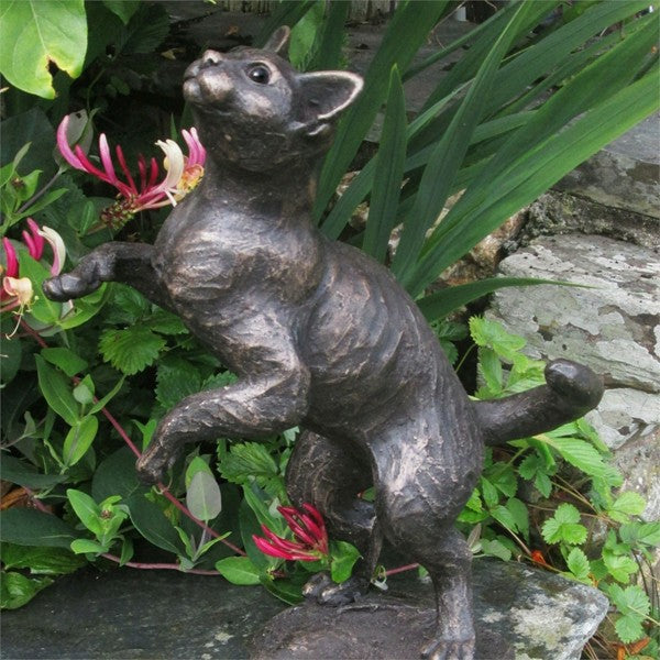 Bella Luna Cat Sculpture by Suzie Marsh