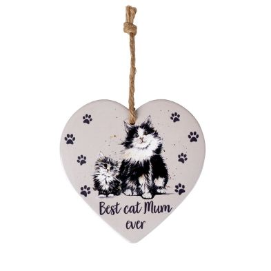 Best Cat Mum Ever Hanging Sign