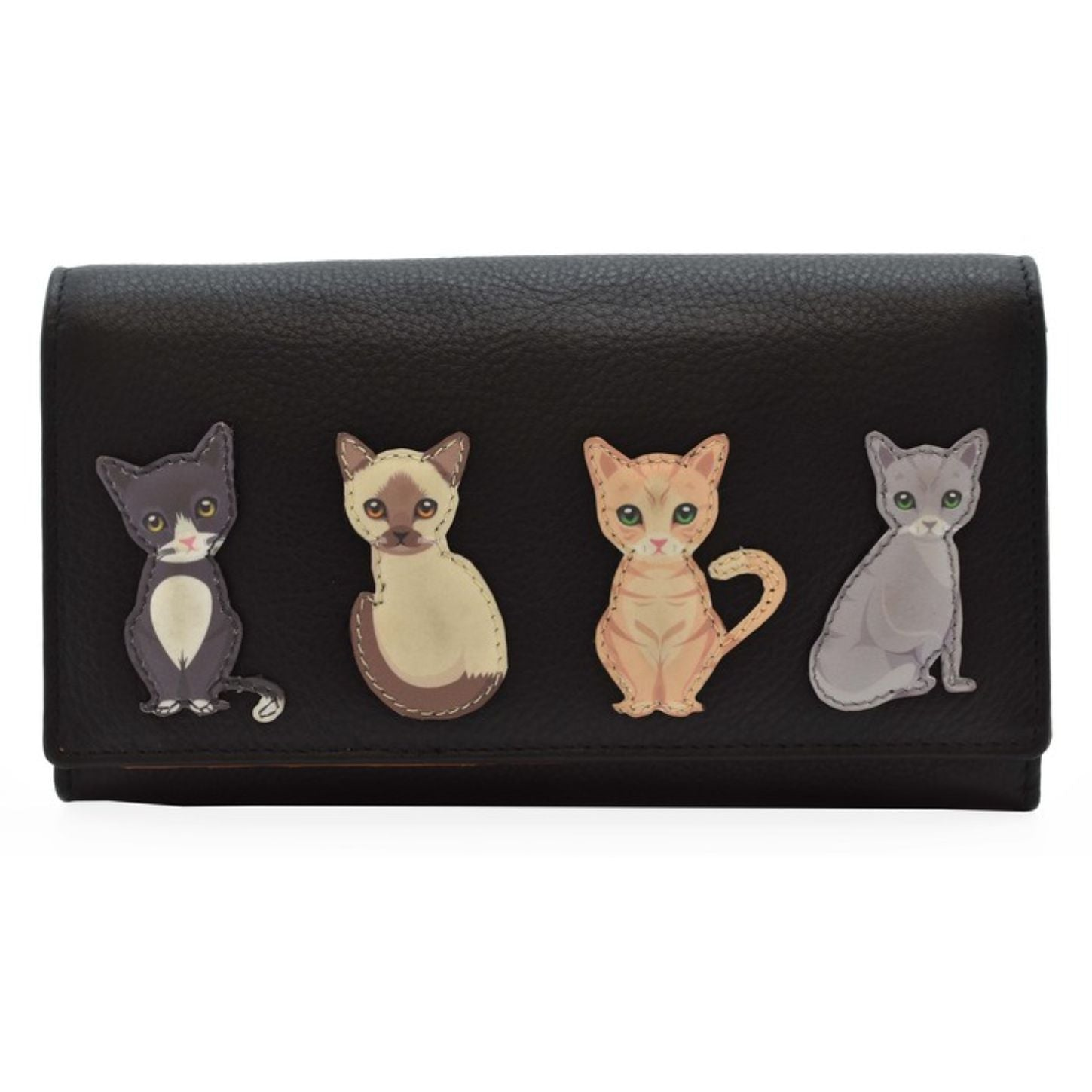Best Friends Feline Purse, Black
