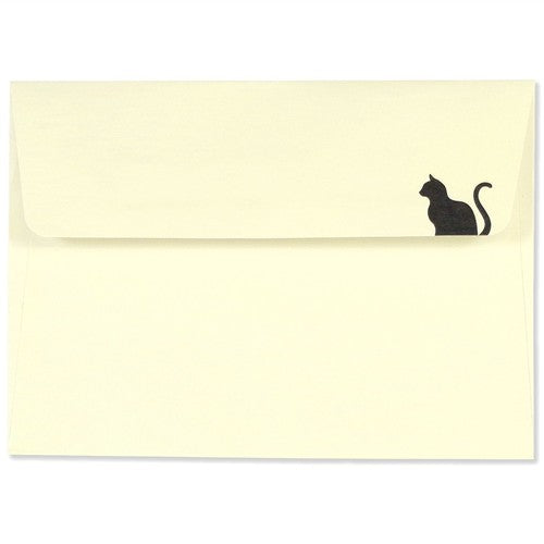 Black Cat Notecards