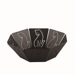 Black Cat Fruit Bowl