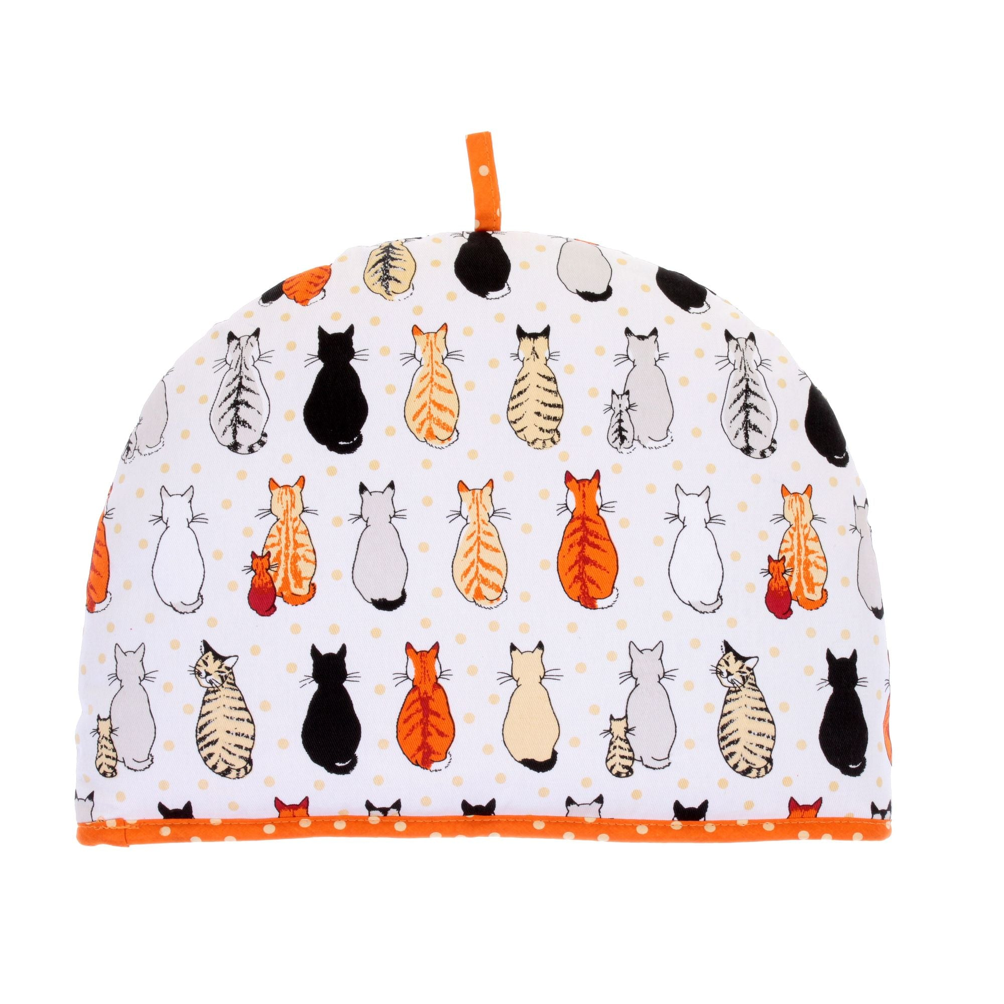 Cats in Waiting traditional tea cosy by Ulster Weavers