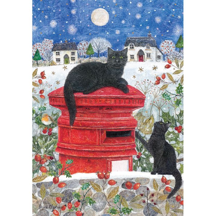Postbox Cats Charity Cards