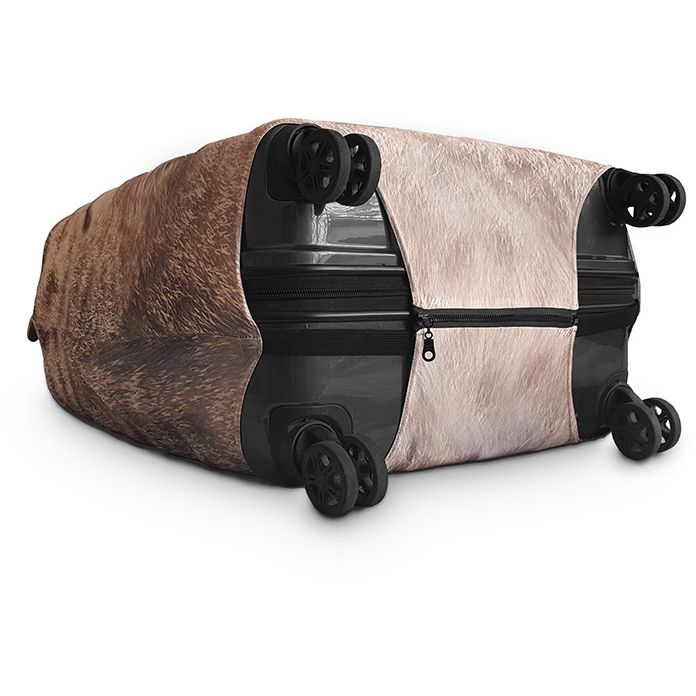 Tabby Cat Luggage Cover