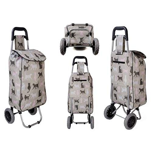 Cat Design Shopping Trolley