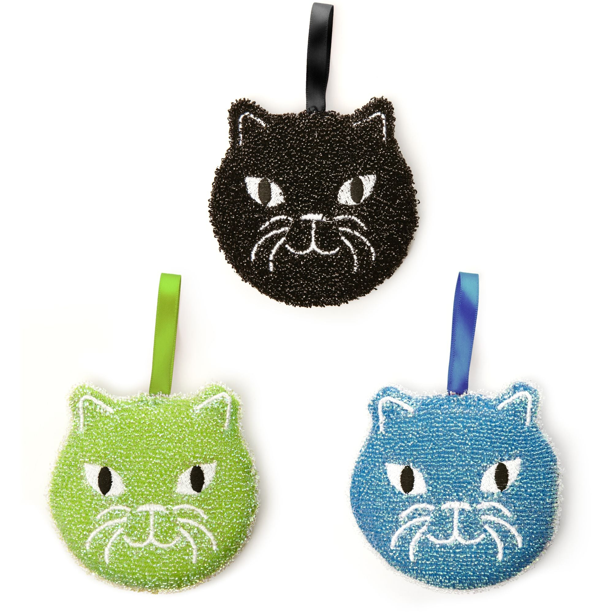 Kitty Scrub Sponges Trio