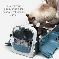 Catit Cabrio Carrier by Hagen in Blue / Grey