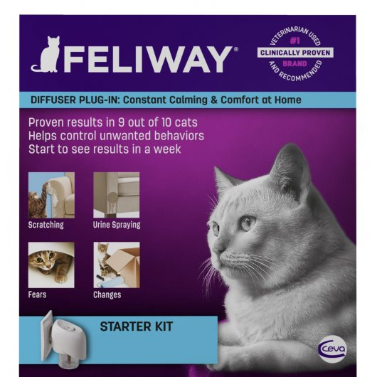 Feliway Classic Diffuser Starter Pack