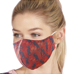 Reusable Face Cover, Chat Noir