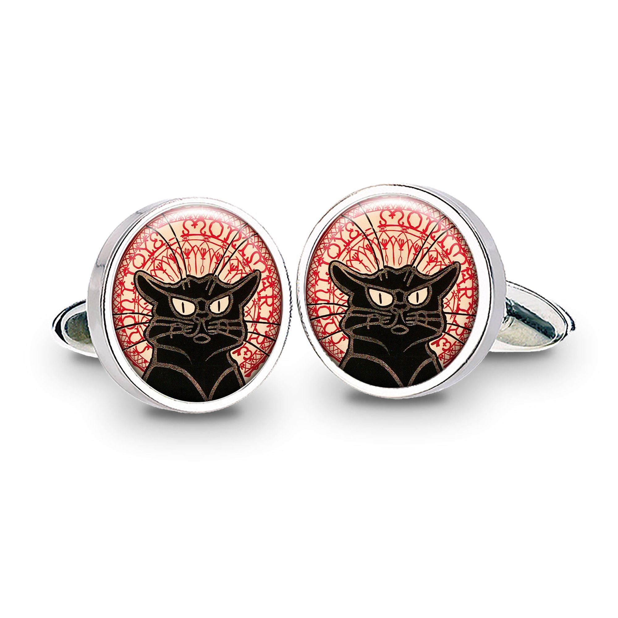 Chat Noir Black Cat Cufflinks