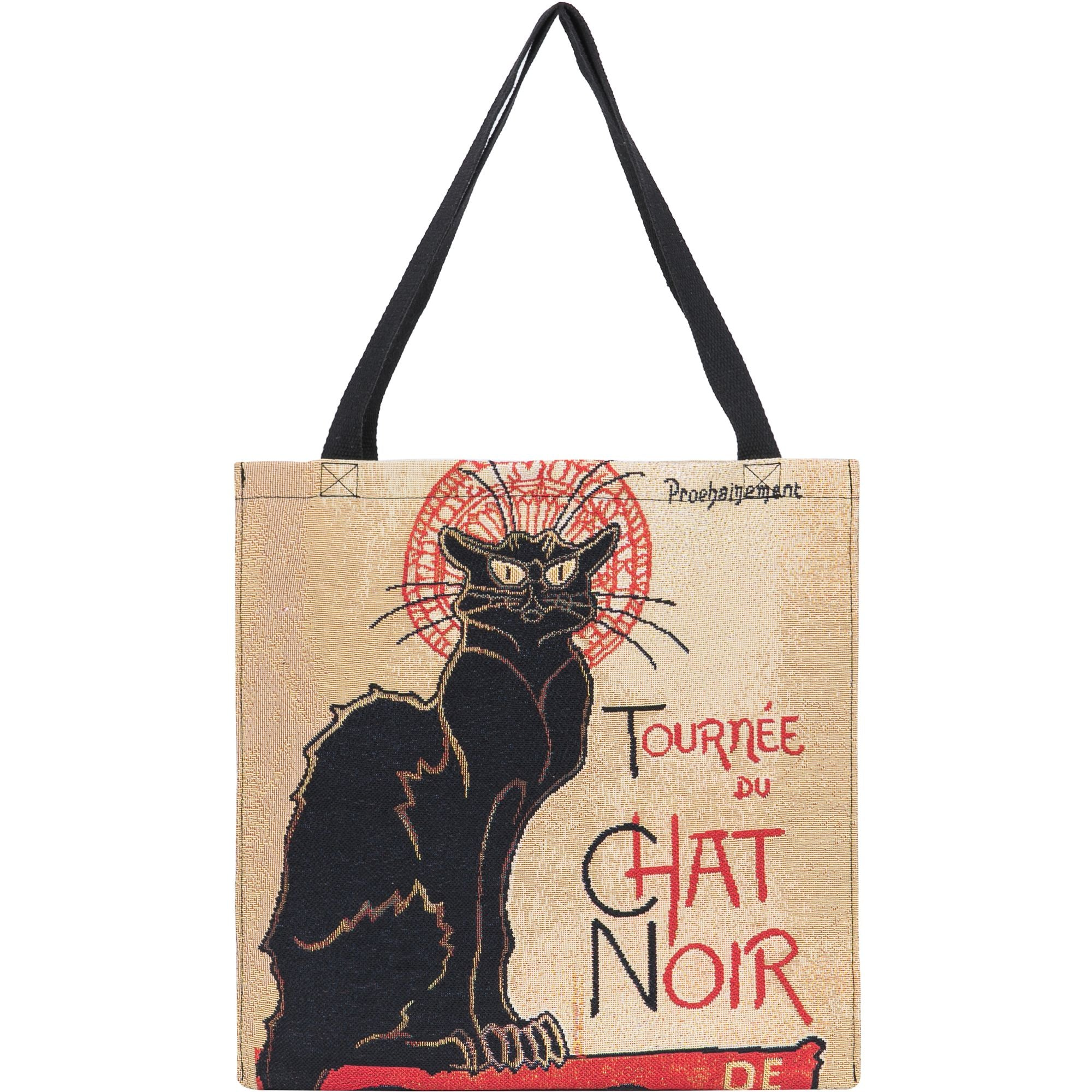 Chat Noir Tapestry Shopper