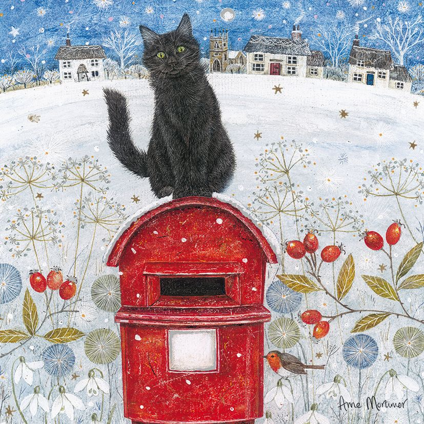 Christmas Post Luxury Charity Cards