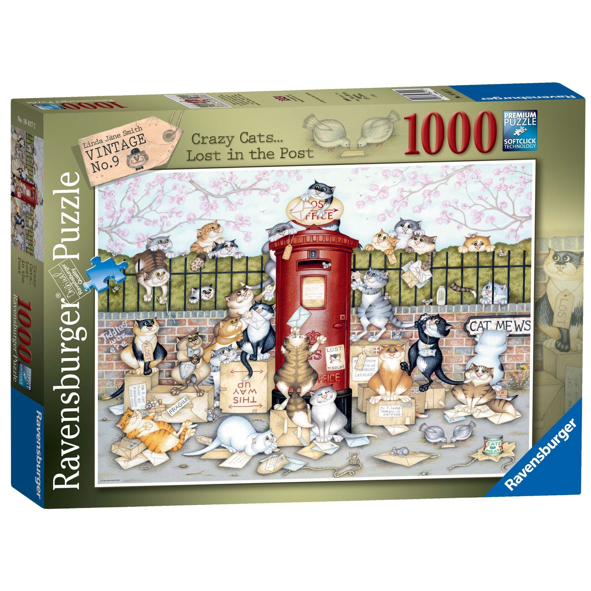 Crazy Cats Lost in the Post Jigsaw