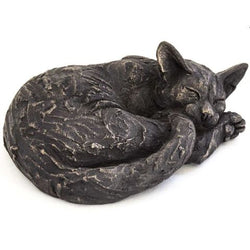 Curled Phoebe Cat Ornament