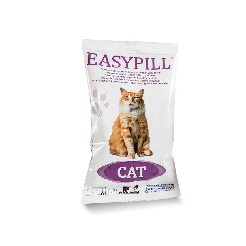 Easypill cat putty packet image 4 x 10g portions