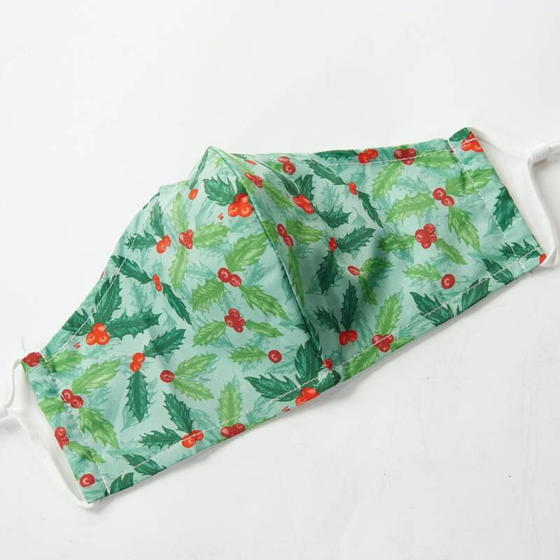 Reusable Face Cover, Holly & Berry