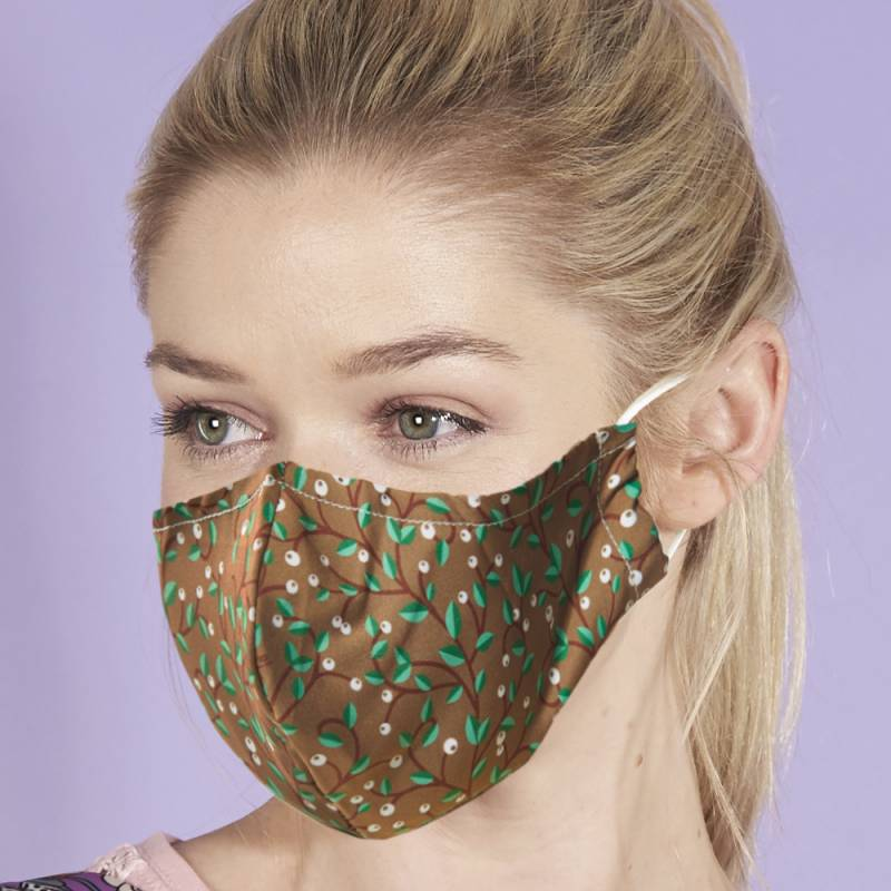 Reusable Face Cover, Berry Trail