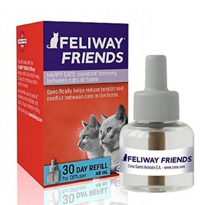 Feliway Friends Refill - Helps reduce tension and conflict in multi-cat households
