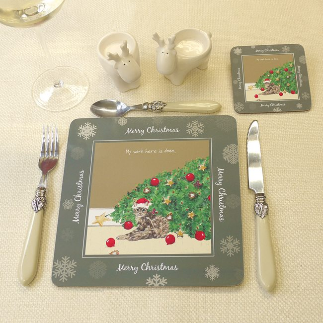 Festive Placemats, pack of 4