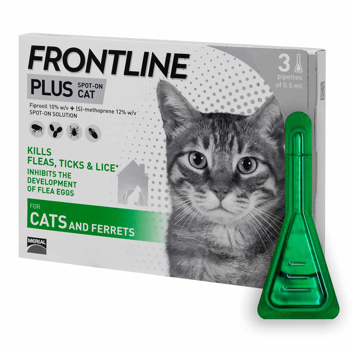 Frontline Plus 3 pipettes