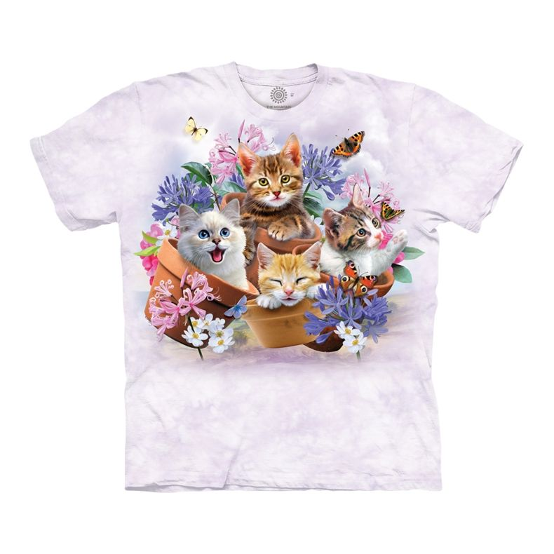 Garden Wonders Cats T-Shirt