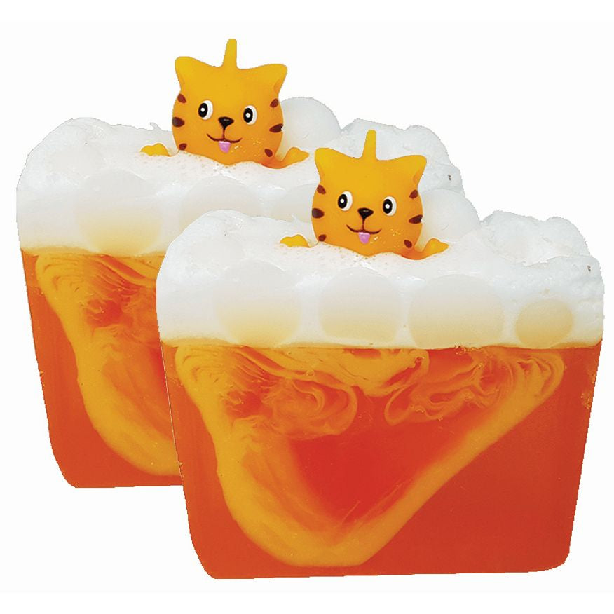 Ginger Kitty Soap Bars (Pack of 2)